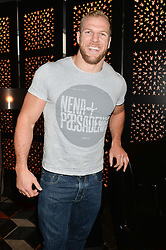 JAMES HASKELL at a party to celebrate the publication of Behind The Mask by Emma Sayle held at The Playboy Club, 14 Old Park Lane, London on 23rd April 2014.