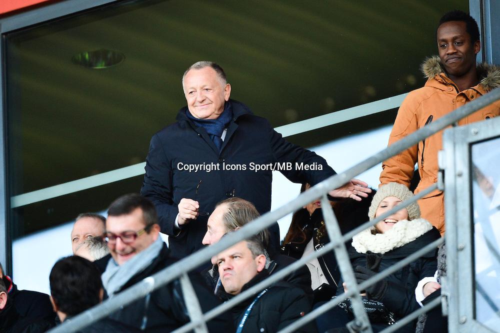 Jean Michel AULAS - 04.01.2014 - Lens / Lyon - Coupe de France<br />Photo : Dave Winter / Icon Sport