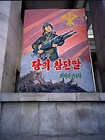 NR000150.jpg/North Kora's propaganda, Pyongyang avril 2000