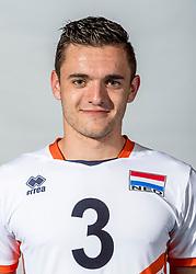 08-06-2018 NED: Photoshoot selection of Orange Young Boys, Arnhem <br /> Orange Young Boys 2018 - 2019 / Daan Nijeboer #3 of Netherlands