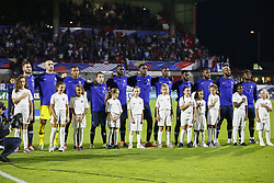 October 12, 2018 - Rouen, France - Presentation equipe France (Credit Image: © Panoramic via ZUMA Press)