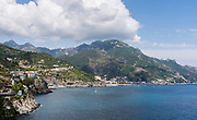 Views and details along the Amalfi Coast of Italy