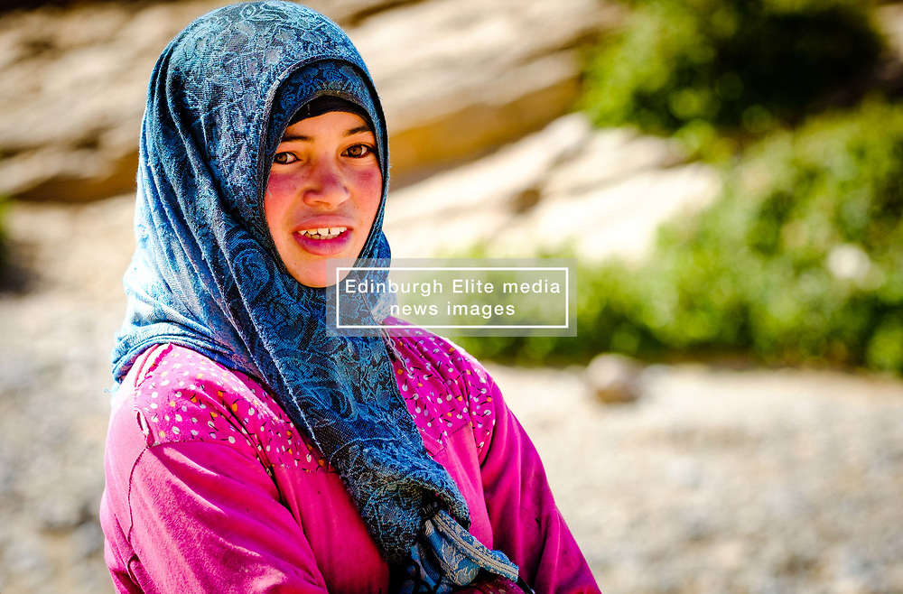 Portrait of a young girl in the Dades Valley, southern Morocco<br /> <br /> (c) Andrew Wilson   Edinburgh Elite media