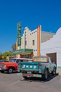 Marfa, Texas, Palace Theatre, art deco