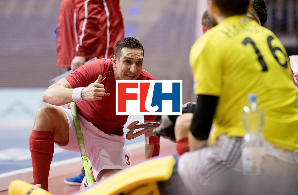 BERLIN - Indoor Hockey World Cup<br /> Women: Ukraine - Germany<br /> foto: PERINKA Ales.<br /> WORLDSPORTPICS COPYRIGHT FRANK UIJLENBROEK