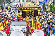 05.10.2017; Bandar Seri Begawan, Brunei: SULTAN HASSANAL BOLKIAH OF BRUNEI<br />celebrates his Golden Jubilee 5 October 2017.<br />Guests included the Prince Edward and Sophie, Countess of Wessex.<br />He became the Sultan of Brunei Darussalam on 5 October 1967, after his father abdicated. His coronation was held on 1 August 1968, and made him the Yang di-Pertuan (Head of State) of Brunei.<br />Ranked among the wealthiest individuals in the world, the Sultan is the wealthiest monarch.<br />Mandatory Photo Credit: &copy;NEWSPIX INTERNATIONAL<br /><br />PHOTO CREDIT MANDATORY!!: NEWSPIX INTERNATIONAL(Failure to credit will incur a surcharge of 100% of reproduction fees)<br /><br />IMMEDIATE CONFIRMATION OF USAGE REQUIRED:<br />Newspix International, 31 Chinnery Hill, Bishop's Stortford, ENGLAND CM23 3PS<br />Tel:+441279 324672  ; Fax: +441279656877<br />Mobile:  0777568 1153<br />e-mail: info@newspixinternational.co.uk<br />&ldquo;All Fees Payable To Newspix International&rdquo;