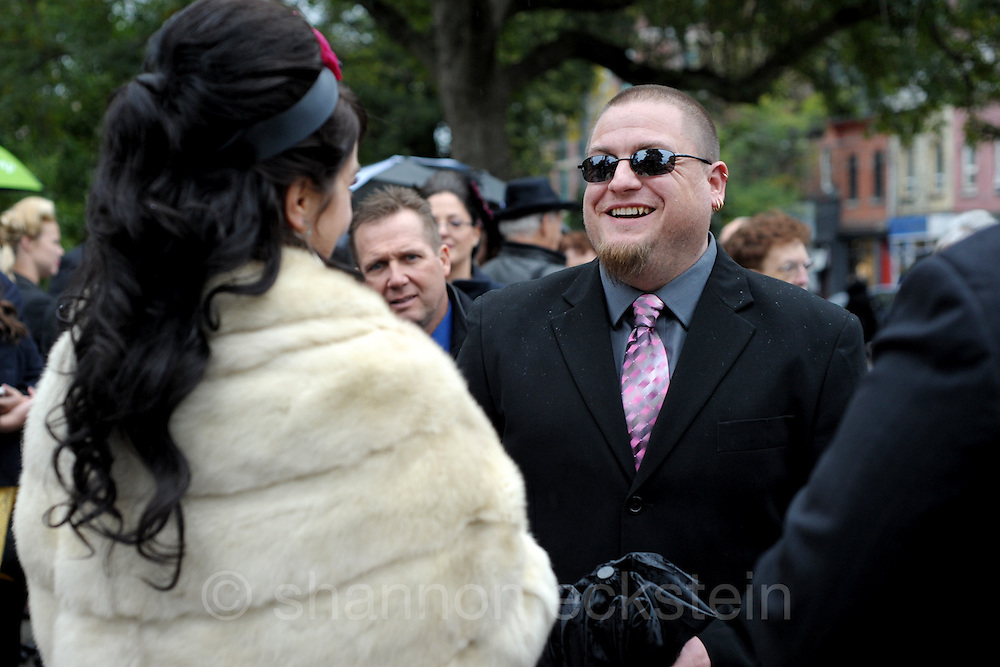 Candice and Trevor | Ceremony <br /> <br /> Trinity Bellwoods Park - TO. ON