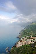 Stormy sky, Cinque Terra, Italy