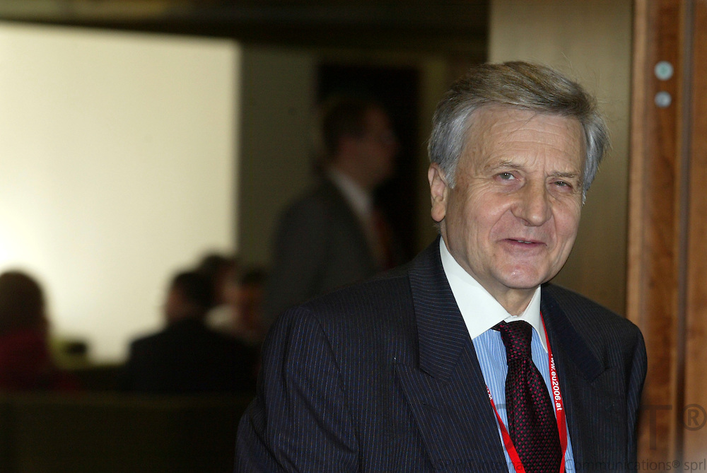 BRUSSELS - BELGIUM - 16 JUNE 2006 -- EU SUMMIT -- Jean-Claude TRICHET the President of the European Central Bank (ECB).  PHOTO: ERIK LUNTANG /