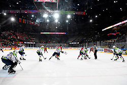 06.05.2017, AccorHotels Arena, Paris, FRA, IIHF WM 2017, Schweiz vs Slowenien, Gruppe B, im Bild Uebersicht Accor Hotel Arena // during the group B match of 2017 IIHF World Championship between Switzerland and Slovenia at the AccorHotels Arena in Paris, France on 2017/05/06. EXPA Pictures © 2017, PhotoCredit: EXPA/ Freshfocus/ Urs Lindt<br /> <br /> *****ATTENTION - for AUT, SLO, CRO, SRB, BIH, MAZ, ITA only*****