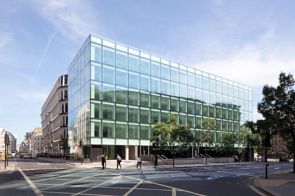 commercial office building, cannon street, london