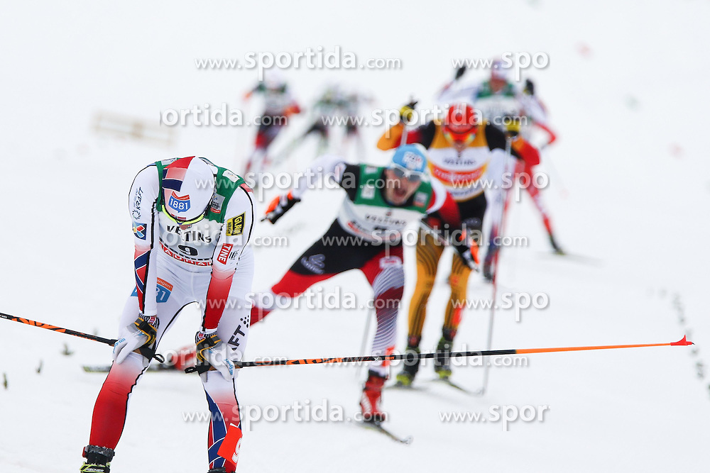 30.01.2015, Langlaufzentrum, Lago di Tesero, ITA, FIS Weltcup Nordische Kombination, Val di Fiemme, Langlauf, im Bild Jan Schmid NOR // during Cross Country of the FIS Nordic Combined World Cup Val di Fiemme at the Langlaufzentrum in Lago di Tesero, Italy on 2015/01/30. EXPA Pictures © 2015, PhotoCredit: EXPA/ Alice Russolo
