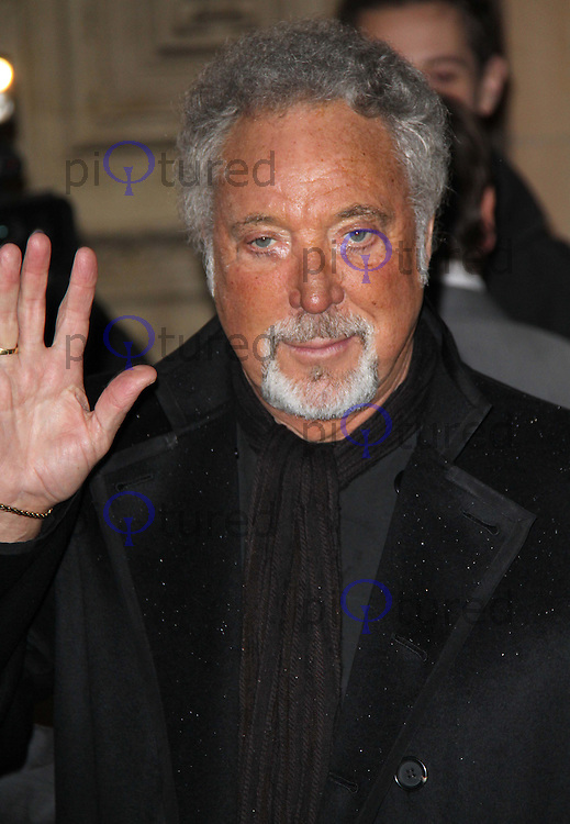 Tom Jones The Prince's Trust Rock Gala, Royal Albert Hall, London, UK, 17 November 2010: piQtured Sales: Ian@Piqtured.com +44(0)791 626 2580 (picture by Richard Goldschmidt)