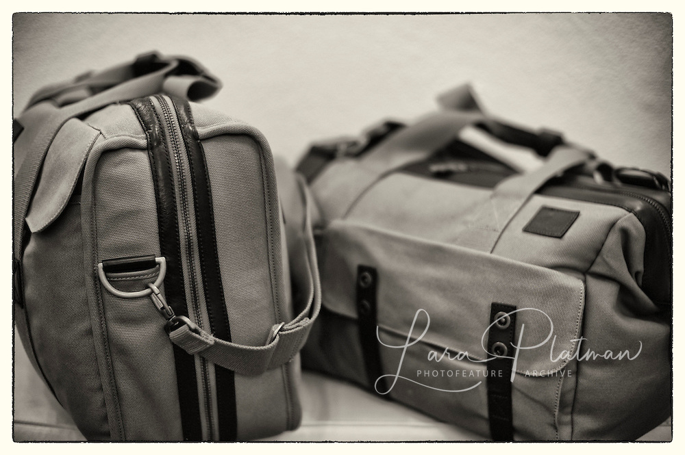 Aston Martin & Leica Roadtrip Product shots for Millican bags and Schloss Hotel