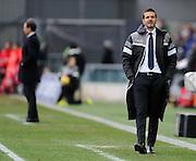 Udine, 01 febbraio 2015<br /> Serie A 2013/2014. 21^ giornata.<br /> Stadio Friuli.<br /> Udinese vs Juventus..<br /> Nella foto: l'allenatore dell'Udinese Andrea Stramaccioni.<br /> © foto di Simone Ferraro