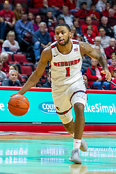 NORMAL, IL - November 10: Dedric Boyd during a college basketball game between the ISU Redbirds and the Little Rock Trojans on November 10 2019 at Redbird Arena in Normal, IL. (Photo by Alan Look)