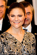 16-12-2016 MILAN ITALY - RECEPTION AT SOCIETÀ DEL GIARDINO <br />  The Crown Princess Couple and Minister for Upper Secondary School and Adult Education and Training Anna Ekström will participate at the Swedish-Italian Chamber of Commerce Assosvezia's yearly Lucia reception. <br />  The Crown Princess Couple's Princess Victoria and Prince Daniel visit to Rome and Milan, Italy, December 15-17  COPYRIGHT ROBIN UTRECHT