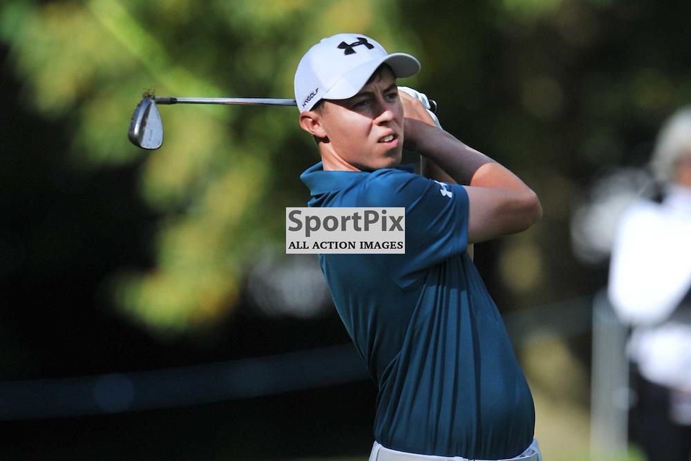 Matthew Fitzpatrick England, British Masters, European Tour, Woburn Golf Course Friday 9th October 2015.