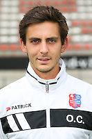 Olivier Croes pictured during the 2015-2016 season photo shoot of Belgian first league soccer team Royal Mouscron Peruwelz, Thursday 16 July 2015 in Mouscron.