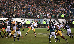 Redskins quarterback Kirk Cousins in action during the December 26, 2015 NFC East Division game between Washington Redskins and Philadelphia Eagles at Lincoln Financial Field. (photo by Bastiaan Slabbers)