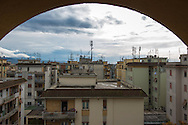 Roma, 02/12/2014: Il quartiere popolare di Tor Sapienza - <br /> The popular neighborhood of Tor Sapienza.