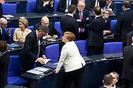 Bundeskanzlerin Angela Merkel (CDU) bei der Wahl der Bundeskanzlerin im Bundestag in Berlin. / 14032018,DEU,Deutschland,Berlin