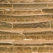 Canterbury Cathedral. Steps worn by the passing centuries of pilgrims feet…and knees