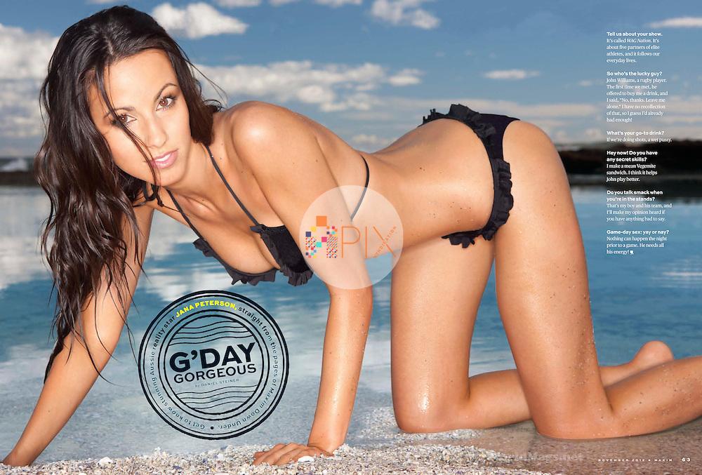 Jana Peterson in Maxim USA :: November 2012