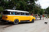 Transportation in San Andres, Holguin, Cuba.