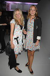Left to right, ASTRID HARBORD and CAMILLA STOPFORD-SACKVILLE at the Tanqueray No.TEN cocktail party held at No1 Piazza, Covent Garden, London on 10th June 2008.<br />