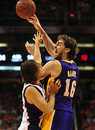 NBA: LA Lakers vs Phoenix Suns//20101029