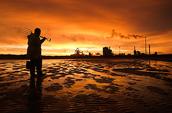 © Licensed to London News Pictures.24/08/15<br /> Teesside, UK. <br /> <br /> Stock picture showing the Teesside steelworks of SSI UK who have warned that the industry is fighting to survive with the company facing collapse under the strain of crippling global markets.<br /> <br /> The steel works based in Redcar is under threat and fears that it won't make a profit this year as it battles the crisis.<br /> <br /> The business, which supports about 3,000 North-East jobs, says the sector is stuck in a tailspin, intensified by economic woes in China and Russia. <br /> <br /> Photo credit : Ian Forsyth/LNP