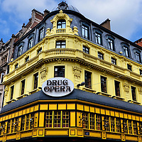 Drug Opera Restaurant in Brussels, Belgium<br />