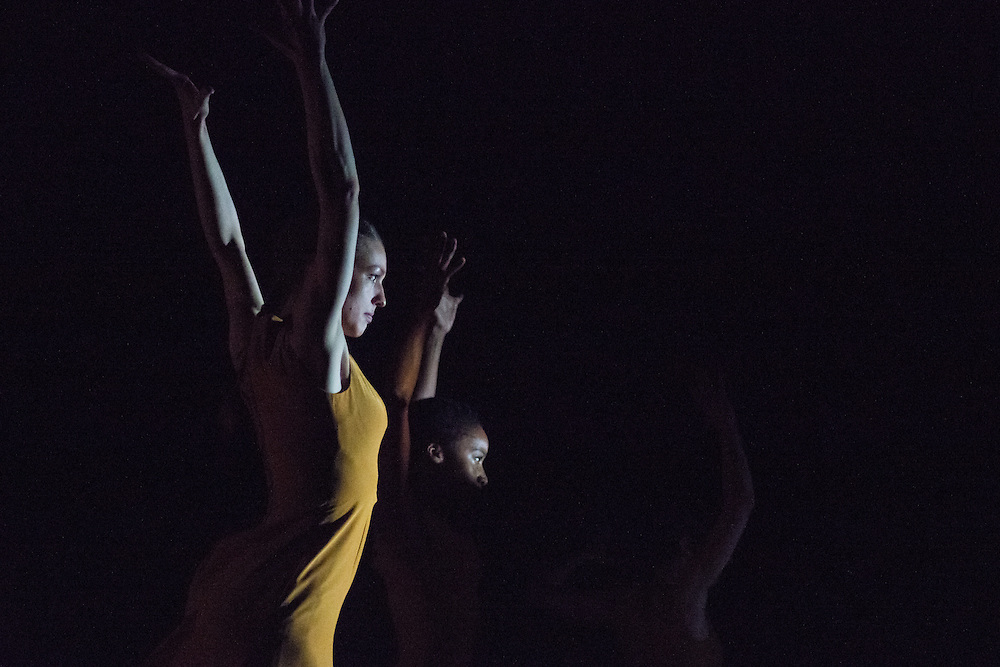 Performance of 'I come to my body as a question' by flamenco dance company dotdotdot dance at Sadler's Wells Sampled on 2 February 2017 © Chantal Guevara