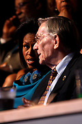 The DNC Convention in Denver will make Obama their candidate.<br /> <br /> <br /> <br /> Michelle Obama in the VIP booth at the Convention.