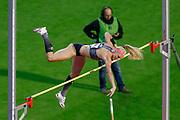 Sandi Morris (USA) Women's Pole Vault during the IAAF Diamond League event at the King Baudouin Stadium, Brussels, Belgium on 6 September 2019.