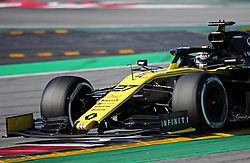 February 18, 2019 - Barcelona, Spain - the Renault of Nico Hulkenberg during the Formula 1 test in Barcelona, on 18th February 2019, in Barcelona, Spain. (Credit Image: © Joan Valls/NurPhoto via ZUMA Press)