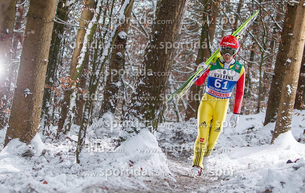 05.01.2015, Paul Ausserleitner Schanze, Bischofshofen, AUT, FIS Ski Sprung Weltcup, 63. Vierschanzentournee, Training, im Bild Markus Eisenbichler (GER) // during Training of 63rd Four Hills <br /> Tournament of FIS Ski Jumping World Cup at the Paul Ausserleitner Schanze, Bischofshofen, Austria on 2015/01/05. EXPA Pictures &copy; 2015, PhotoCredit: EXPA/ JFK