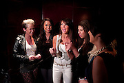 MEMBERS OF BUBBEL G WITH LIZZIE CUNDY, launch of Fabulous Haircare Range, Frankie's Italian Bar and Grill, 3 Yeomans Row, off Brompton Road, London SW3, 7pm