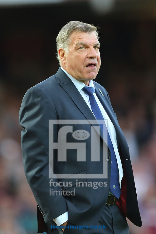 Manager of West Ham United, Sam Allardyce during the Barclays Premier League match against Queens Park Rangers at the Boleyn Ground, London<br /> Picture by Richard Calver/Focus Images Ltd +447792 981244<br /> 05/10/2014