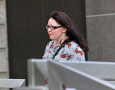 Former SNP MP Natalie McGarry trial starts, Glasgow, 23 April 2019