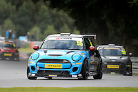#55 Jeff Smith Mini F56 JCW during the MINI Challenge - JCW at Oulton Park, Little Budworth, Cheshire, United Kingdom. August 20 2016. World Copyright Peter Taylor/PSP.
