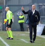 Udine, 15 febbraio 2015<br /> Serie A 2014/15. 23^ giornata.<br /> Stadio Friuli.<br /> Udinese vs Lazio<br /> Nella foto: l'allenatore della Lazio Stefano Pioli.<br /> © foto di Simone Ferraro