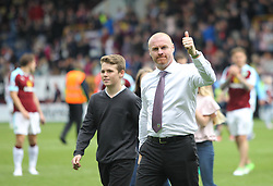 Burnley manager Sean Dyche with his kids during the end of season walk around - Mandatory by-line: Jack Phillips/JMP - 21/05/2017 - FOOTBALL - Turf Moor - Burnley, England - Burnley v West Ham United - Premier League