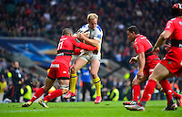 Nick ABENDANON / Bryan HABANA - 02.05.2015 - Clermont / Toulon - Finale European Champions Cup -Twickenham<br />Photo : Dave Winter / Icon Sport