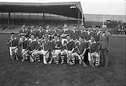 16/10/1966<br /> 10/16/1966<br /> 16 October 1966<br /> Oireachtas Senior Semi-Final: Cork v Wexford at Croke Park, Dublin.<br /> Cork Senior Hurling team.