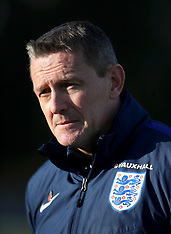England Under 21 Training Session and Press Conference - 08 November 2017