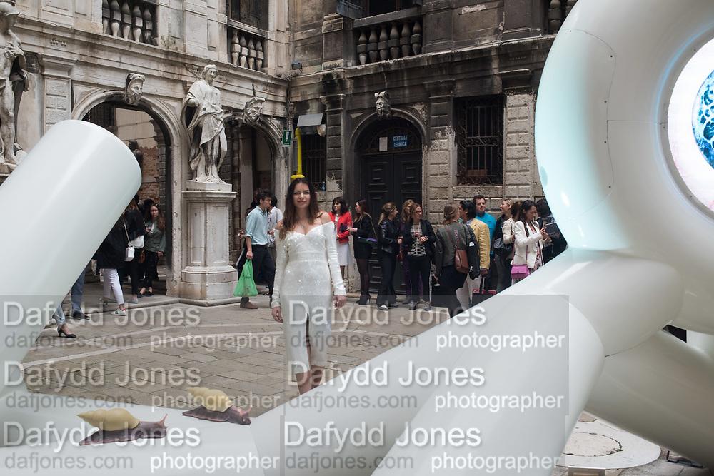 LINA CONDES, - LINA CONDES, EXTRATERRESTRIAL ODYSSEY  with special participation by Daniel Lismore, Palazzo Pisani, Conservatorio di Musica Benedetto Marcello, near Accademia bridge, Venice Biennale,  Venice, Friday 12  May 2017