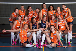 10-05-2018 NED: Team shoot Dutch volleyball team women, Arnhem