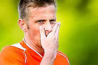 DEN HAAG - HBS - MSC , Sportpark Craeyenhout , Voetbal , Promotie/degradatie topklasse , seizoen 2014/2105 , 28-05-2015 , MSC speler Jeroen Kleene is teleurgesteld